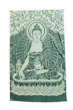 Load image into Gallery viewer, Seated Buddha Stonewashed Tapestry