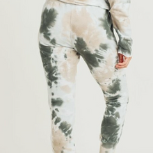 Load image into Gallery viewer, Tie Dye Jacquard Joggers