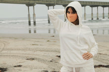 Load image into Gallery viewer, Long Sleeve Wide Drawstring Hoodie