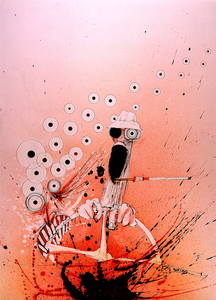 Ralph Steadman Signed Print From Fear and Loathing in Las Vegas - Open Edition