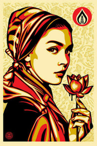 "Shepard Fairey Signed Print ""Natural Springs"""