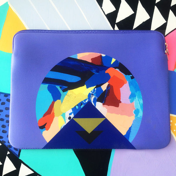 Abstract Macbook case