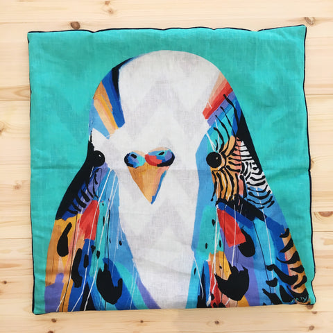 Budgie Cushion COVER