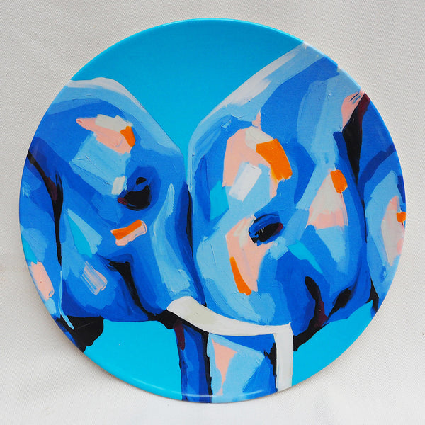 MELAMINE PLATE SINGLE- ELEPHANT