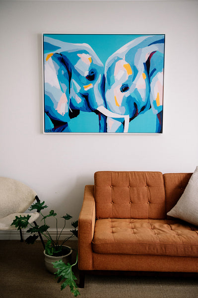 'Everything About You Makes Me Happy' CANVAS PRINT