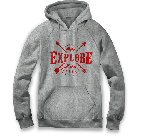 Explore More - Unisex Hooded Sweatshirt