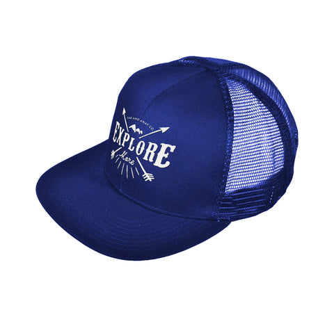 Explore More - Embroidered Trucker Hat