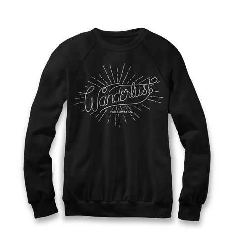 Wanderlust - Unisex Crew Neck Sweater