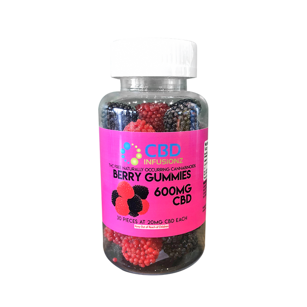 CBD Infusionz Berry Gummies