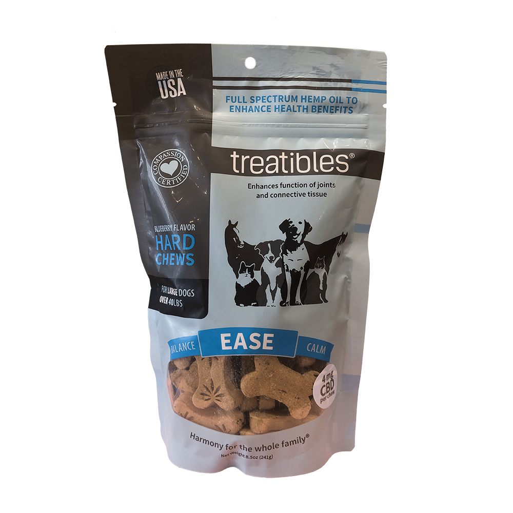 Treatibles Large Blueberry Chews 4mg