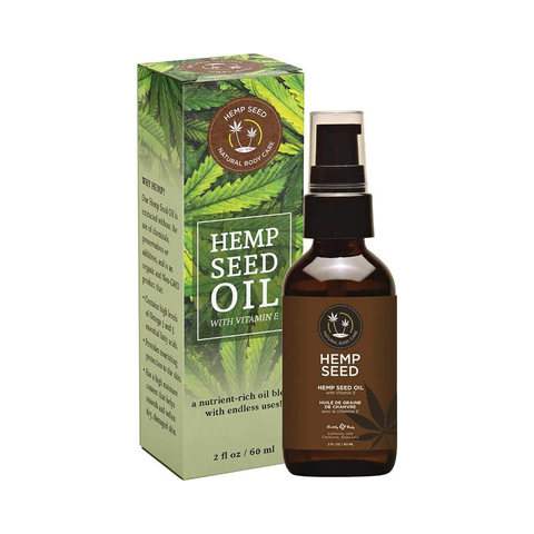 Earthly Body Hemp Seed Oil with Vitamin E