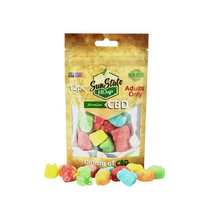 Wicked Mojo Bag Gummy Bears 180mg