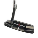 GAUDE DESIGN D-FIT DEVON BLADE PUTTER (BLACK) - UNCUT