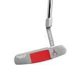 GAUGE DESIGN MIA PROTOTYPE PUTTER SILVER/RED - UNCUT