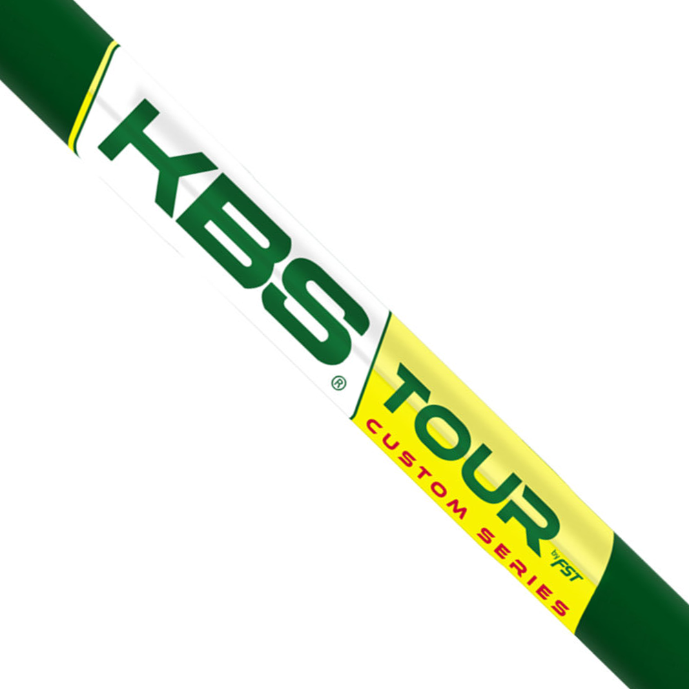 KBS CUSTOM SERIES TOUR FLT (GREEN/YELLOW) SHAFTS (0.355)