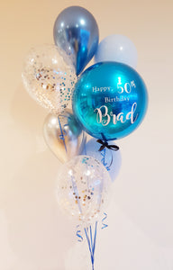 Personalised Orb Bouquet