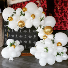 Load image into Gallery viewer, 4m Balloon Garland || 2m Gold Hoop Hire