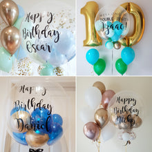 Load image into Gallery viewer, Personalised Bubble Balloons (Helium)