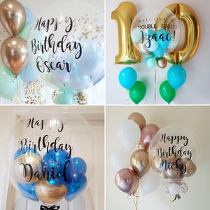Personalised Bubble Balloons (Helium)