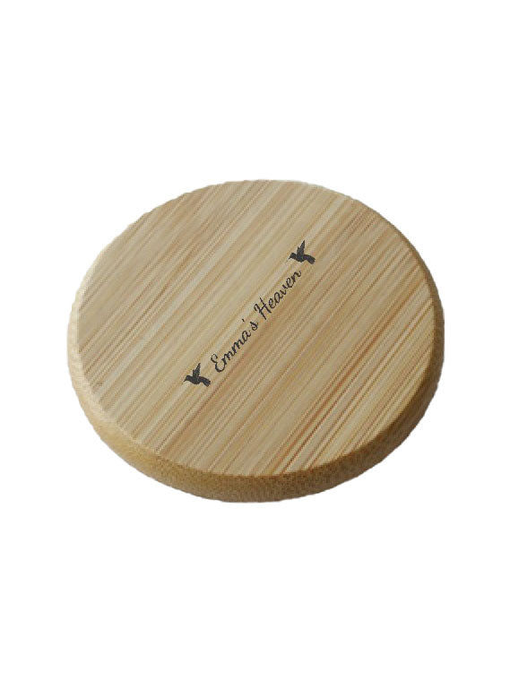 Bamboo Pocket Mirror