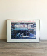 "Load image into Gallery viewer, 1978 Richard Estes ""The Urban Landscape"" Expo Framed Print"