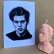 Load image into Gallery viewer, Harry-ween candle *limited edition* with art print