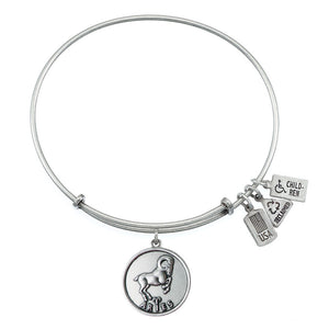 Wind & Fire Aries (Ram) Charm Bangle