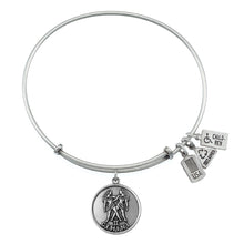 Load image into Gallery viewer, Wind & Fire Gemini (Twins) Charm Bangle