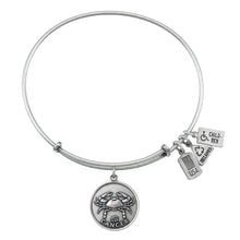Load image into Gallery viewer, Wind & Fire Cancer (Crab) Charm Bangle