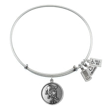 Load image into Gallery viewer, Wind & Fire Leo (Lion) Charm Bangle