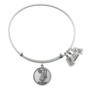 Wind & Fire Virgo (Maiden) Charm Bangle