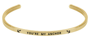 Wind & Fire You're My Anchor Cuff Bangle