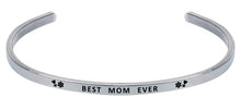 Load image into Gallery viewer, Wind & Fire Best Mom Ever Cuff Bangle
