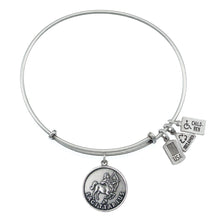 Load image into Gallery viewer, Wind & Fire Sagittarius (Archer) Charm Bangle