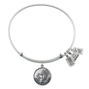 Wind & Fire Sagittarius (Archer) Charm Bangle