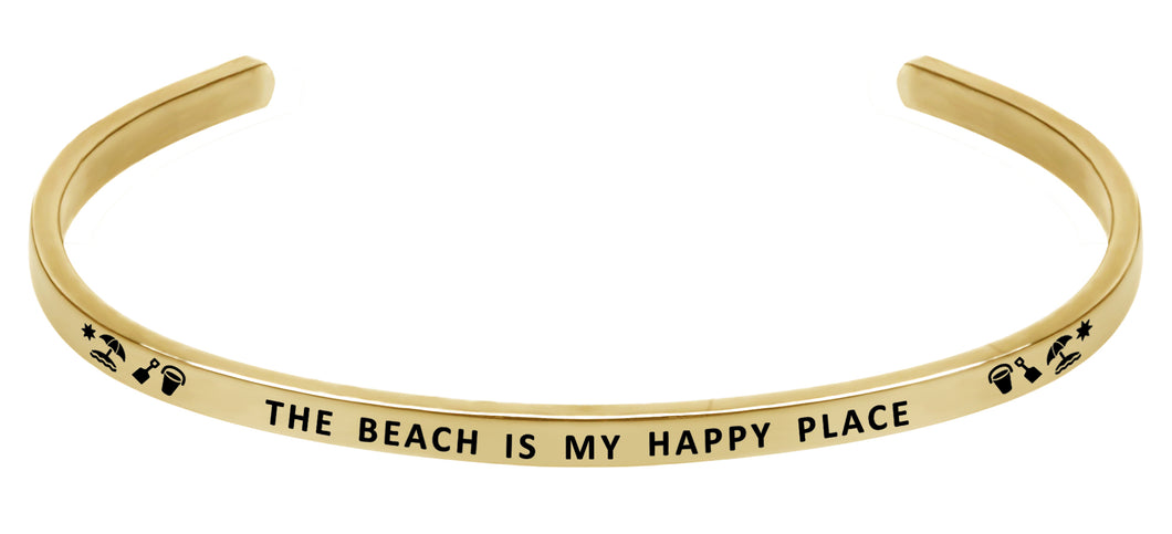 Wind & Fire The Beach is My Happy Place Cuff Bangle