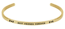 Load image into Gallery viewer, Wind & Fire Best Friends Forever Cuff Bangle
