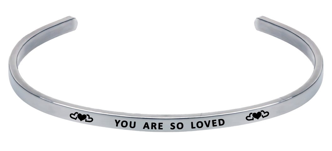 Wind & Fire You Are So Loved Cuff Bangle