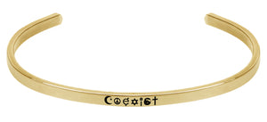 Wind & Fire Coexist Cuff Bangle