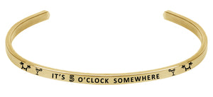 Wind & Fire It's Five O'Clock Somewhere Cuff Bangle