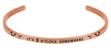 Load image into Gallery viewer, Wind & Fire It's Five O'Clock Somewhere Cuff Bangle