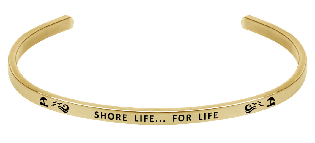 Wind & Fire Shore Life... For Life Cuff Bangle