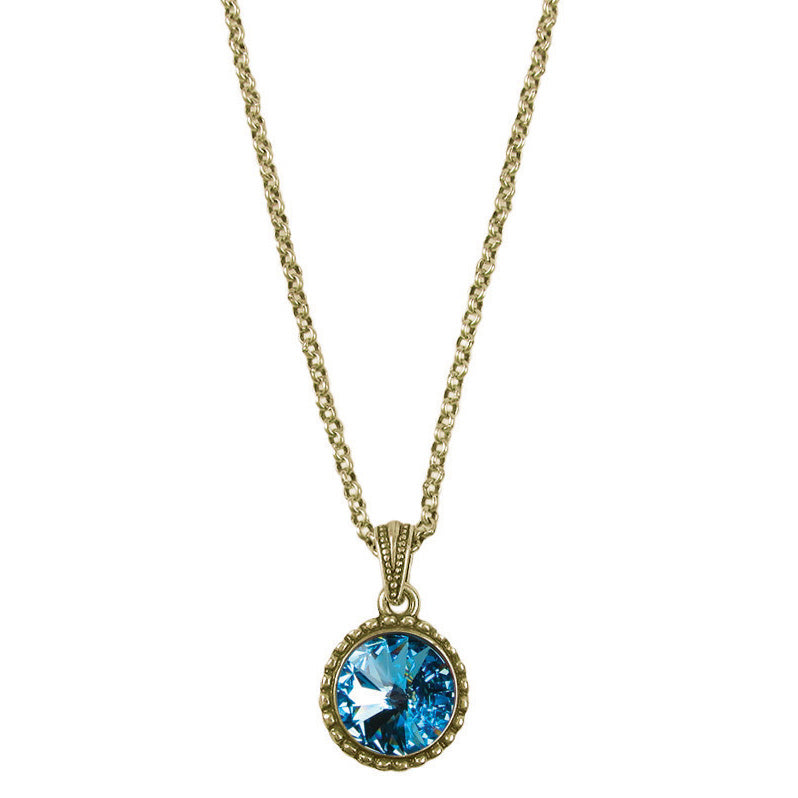 Wind & Fire December Birthstone Charm Necklace