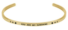 Load image into Gallery viewer, Wind & Fire You Are My Sunshine Cuff Bangle