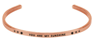 Wind & Fire You Are My Sunshine Cuff Bangle