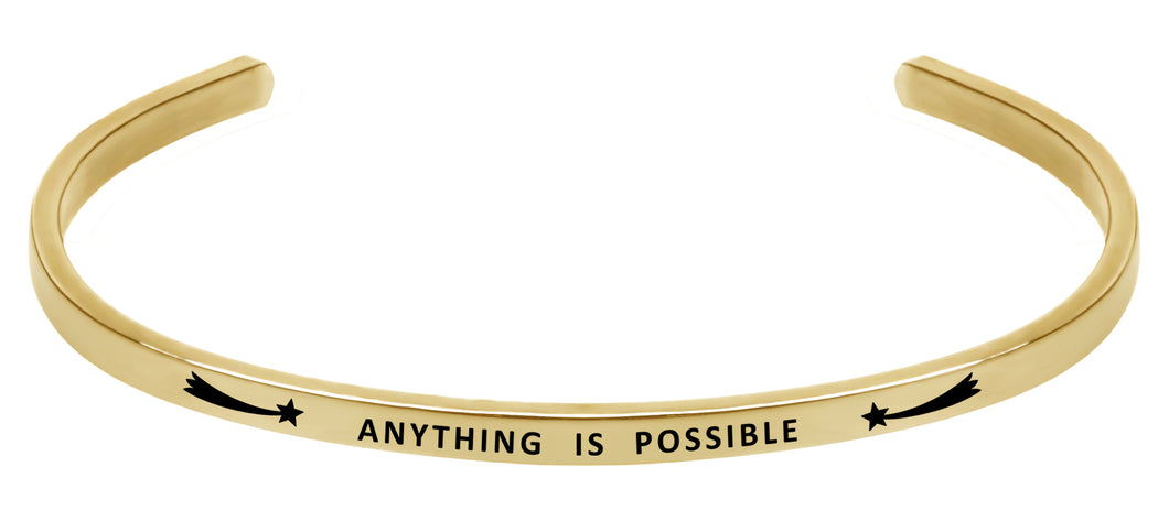 Wind & Fire Anything is Possible Cuff Bangle