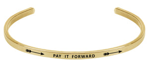 Wind & Fire Pay It Forward Cuff Bangle