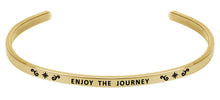 Load image into Gallery viewer, Wind & Fire Enjoy the Journey Cuff Bangle