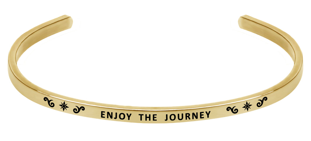 Wind & Fire Enjoy the Journey Cuff Bangle