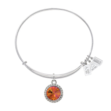 Wind & Fire Earth's Elements FIRE Charm Bangle